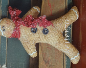 Primitive Christmas Gingerbread Ornie/Ornies Bowl Fillers