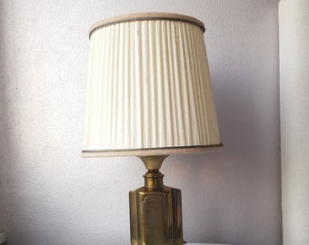 Vintage Brass Desk Lamp Hollywood Renaissance
