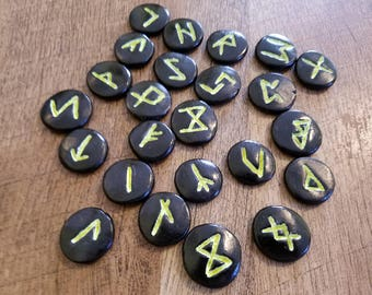 Glow in the Dark Runes - Elder Futhark