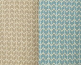 JACQUARD ZIGZAG cotton blend knit