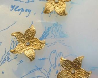 Pinwheel Flower Bead (5 pc )