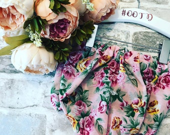 Holiday floral bloomers