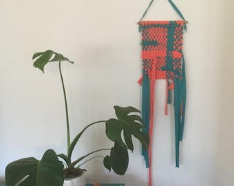 Handwoven wall hanging - 'Festival'