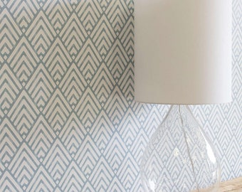 Geometric wallpaper Diamond / Removable wallpaper geometric / Self-adhesive decorative wallpaper mb109