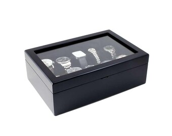 EXTRA LARGE 20 Piece Watch Box 20 XL Slots Watch Organizer