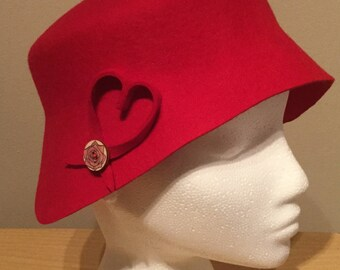 Red Valentine Hat