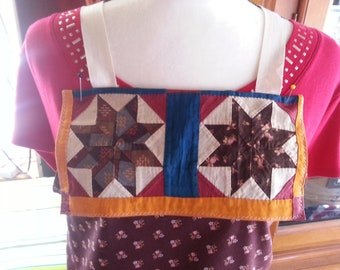 Antique Quilted Full-Size Apron