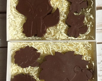 Chocolate Hedgehog/Fox Gift Box