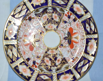 3 Individual Royal Crown Derby Side Plates-  pattern 2451, years, 1913, 1917, and 1922