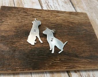 Dog Charm, Dog Jewelry, Dog Lover, Doggie Gift, Dog Necklace, Dog Mom, Custom Jewelry, Handstamped Jewelry, Custom Stamped Jewelry