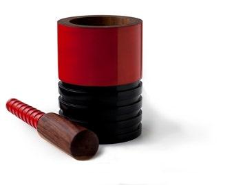 Katta Mortar & Pestle [hand made in Rosewood]