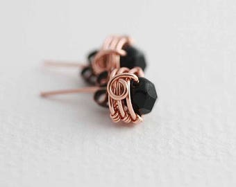 Wire Wrap tutorial, Mulberry post earrings tutorial - Instant download, wire wrapping tutorial, wire jewelry tutorial