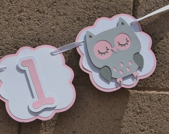 Owl baby shower. Pink, Grey and White. Celebration, New baby girl. Trees. It's A Girl. Baby Shower