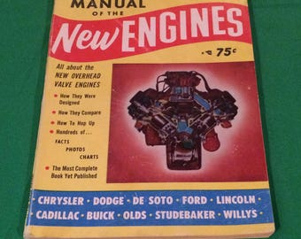 """1953 Hop Up Magazine, """"Manual of the New Engines"""