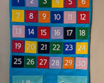 Countdown Calendar for any occasion *personalize available*