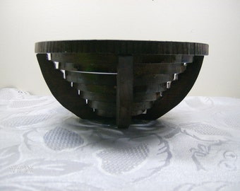 Wooden Bowl,