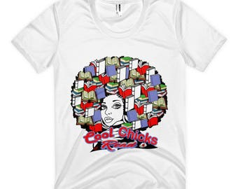 Cool Chicks Read Women's sublimation t-shirt