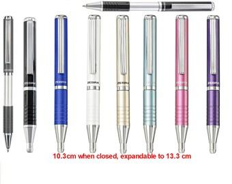 Zebra Expandz Refills / 0.7 Ballpoint Pen Vertical Pull to Expand