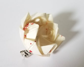 Origami Lily pin