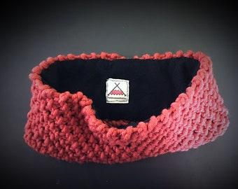 Burnt Red Headband Earwarmer