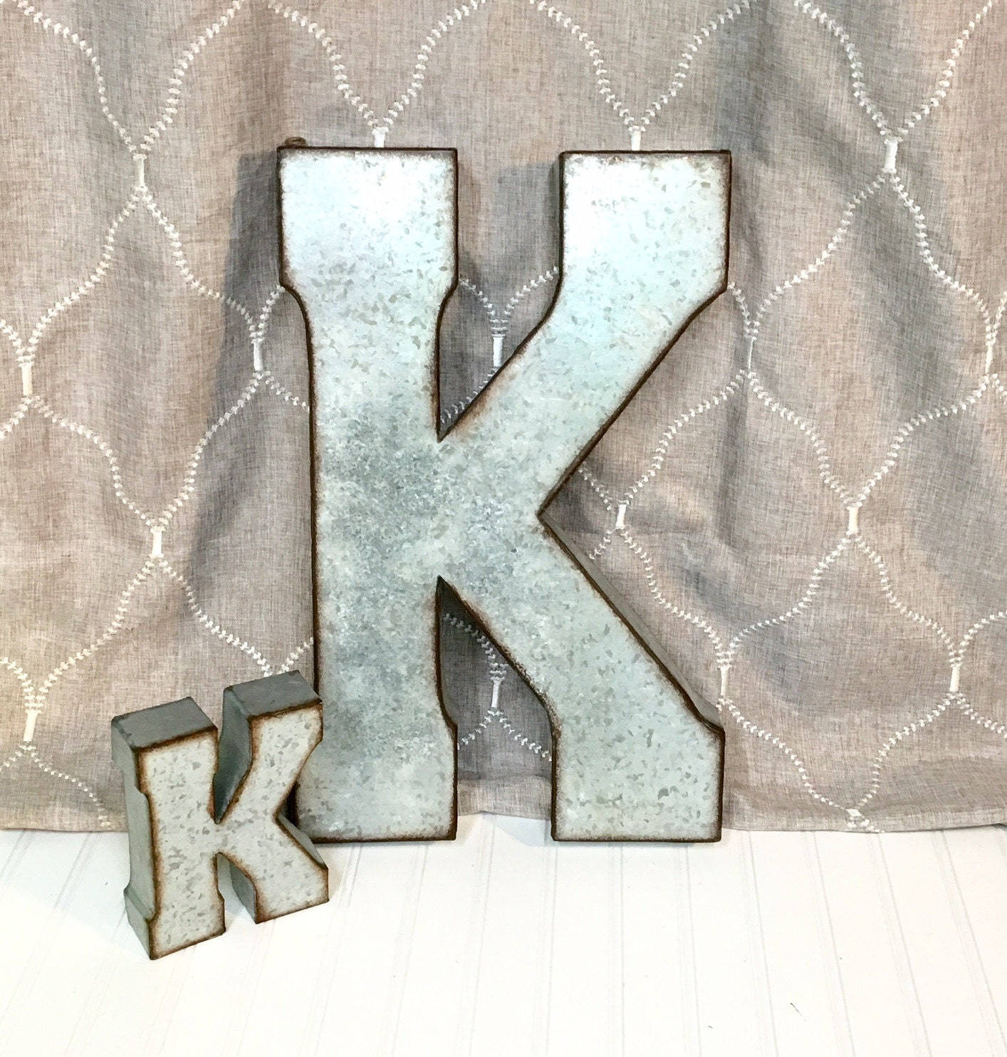Galvanized Letters For Sale Metal Letterslarge Metal Lettersletter Kgalvanized Metal