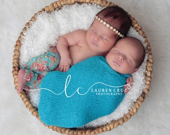 Gold rhinestone headband for newborn photo shoots, tie back or elastic - photo prop, bebe, photographer, Lil Miss Sweet Pea