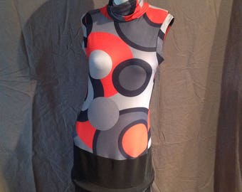 Pop Art Shyde Mini Dress Made in France (M)