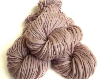 Chunky yarn hand dyed yarn handspun yarn merino wool yarn chunky wool bulky yarn weaving yarn thick and thin yarn handspun art yarn bulky