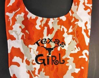 Texas Longhorns bib
