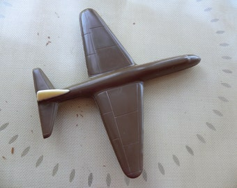 3D Airplane solid chocolate, 10x10 aircraft chocolate, chocolate jet, flying aircraft chocolate, pilots airplane, pilots candy gift, airline