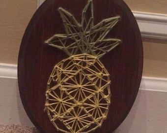 Personalized made to order string art