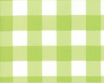 Buffalo Check Lime 8656 41 by Moda