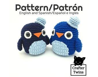 Ron the penguin - Amigurumi pattern