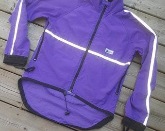 Mountain Equipment Co-op Running Cycling 3M Reflective Jacket Size XS Women's
