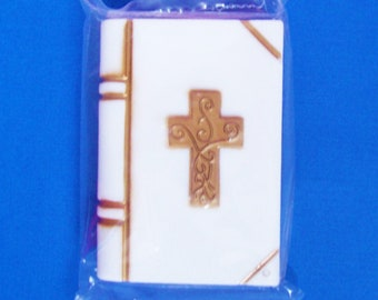 """Bible Cake Decoration Topper  Plastic, Bible is 3 1/2"""""""