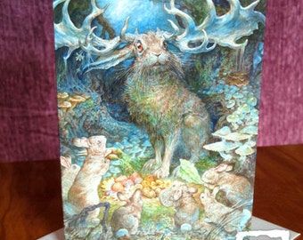 Greeting Card - God of Peter Cottontail