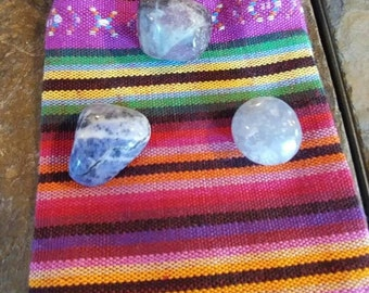 Healing and Affirmation Bag of Crystals