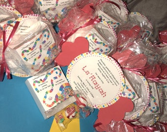 Candy land Invitations