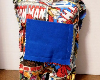Comic Book Tooth Fairy Pillow
