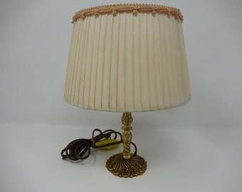 Old bronze table lamp, free shipping