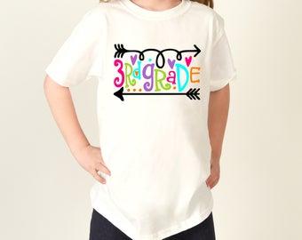 Third Grade Shirt, Third Grade, 3rd Grade Shirt, 3rd Grade, 3rd Grade Teacher, First Day of School Shirt, Back to School,1st Day of School
