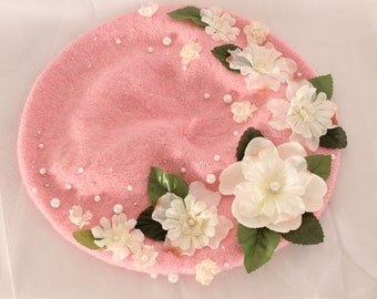 Made to Order: Floral Beret