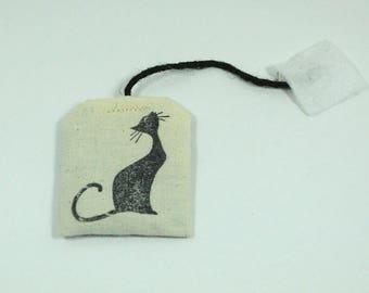 3 Catnip tea bags, catnip toys, cat supplies, pet supplies, pet toys