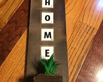 Home- Scrabble