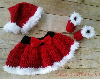 Crochet Baby Outfit, Take Home Baby Outfit, Crochet Baby Skirt, Infant Outfits, Crochet Newborn Outfit, Photo Prop Outfit, Infant Christmas