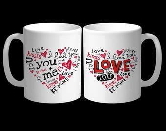 11oz Valentine's Day Mug