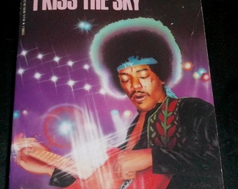 JIMI HENDRIX Vintage Paperback Biography Book Excuse Me While I Kiss The Sky