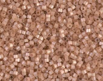 11/0 Miyuki Delica Seed Beads DB1803 - Dyed Cinnamon Silk Satin Delica 1803 - 6 Grams  - Delica DB-1803, Delica 1803