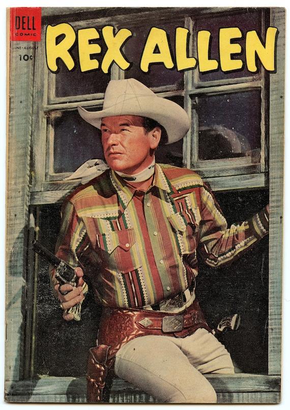 Rex Allen Comics 13 Aug 1954 VG+ (4.5)