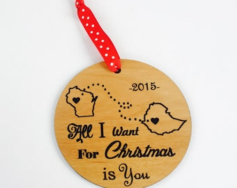 Adoption Christmas Ornament